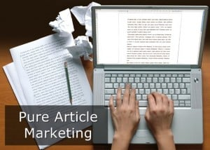 """Article marketing"""